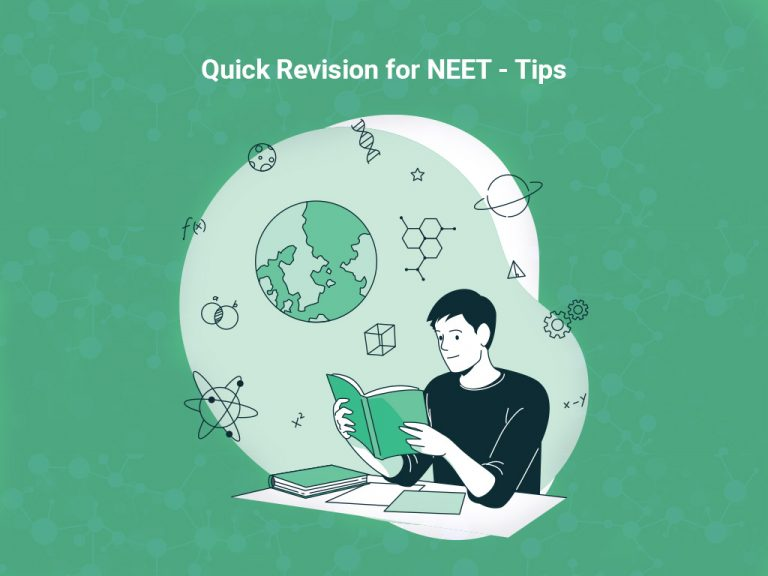 Quick Revision of the Syllabus for NEET 2021-Tips &Tricks